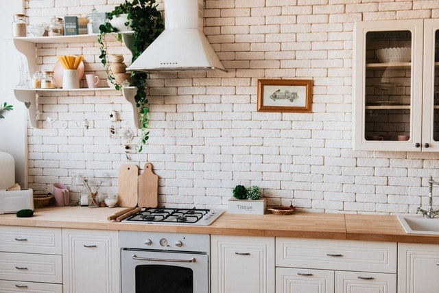 Cuisine plan de travail bois | Cuisiniste Nice