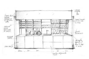 Cuisine Valcucine Logica Celata Bar | Cuisiniste Nice - Massimo Cucine