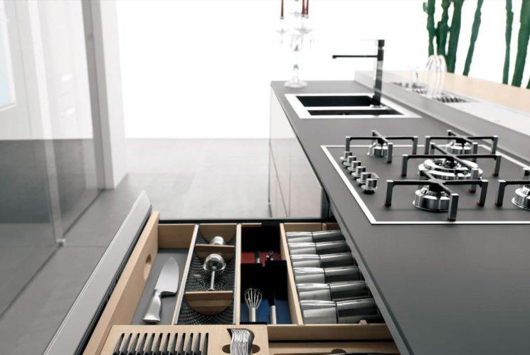 Aménagement cuisine de luxe  Massimo Cucine