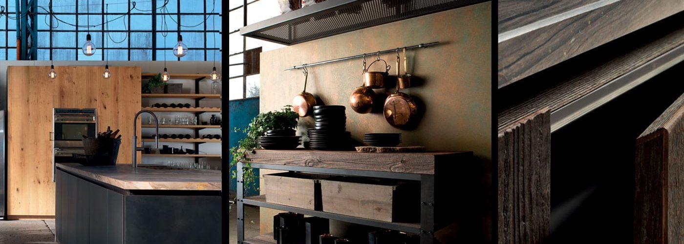 Cuisine style industriel | Massimo Cuisine industrielle